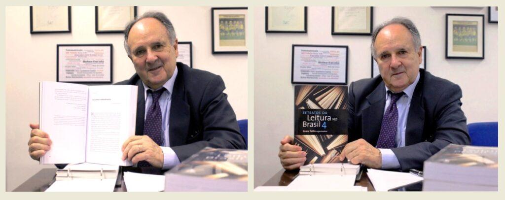 Senador com Livro