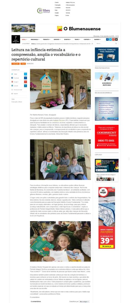 Site Blumenauense 05 -09 -16