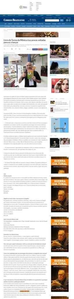 Site Correio Braziliense 10 -09 -16