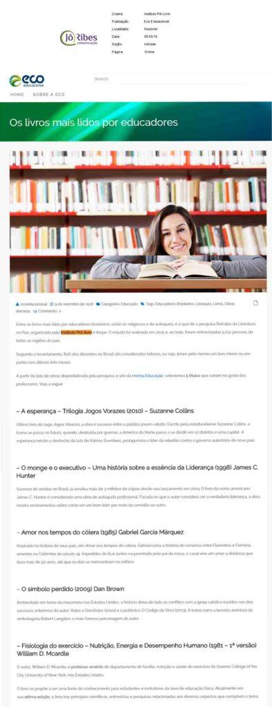 Site Eco Educacional 09 -09 -16