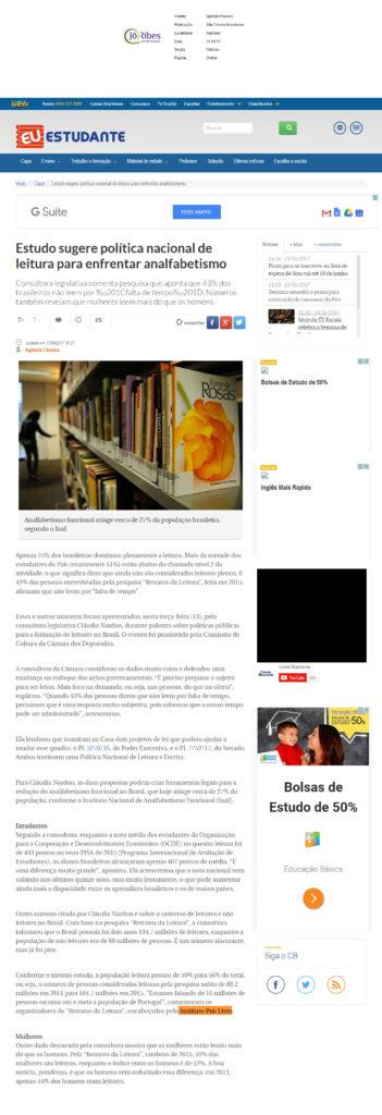 Site Correio Braziliense 13 - 06 - 17