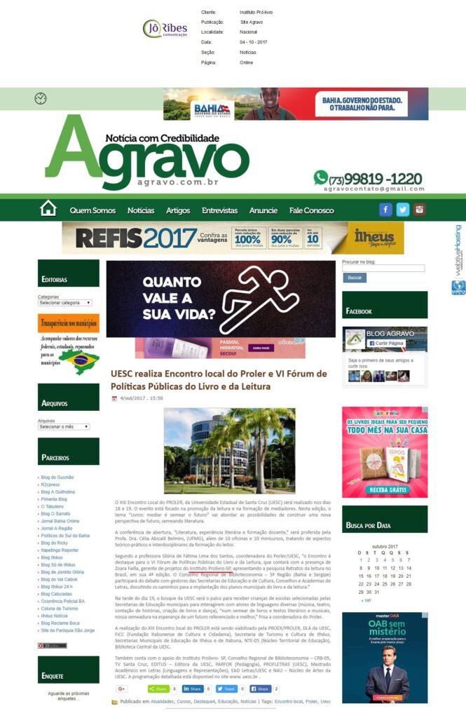 Site Agravo 04 - 10 - 2017