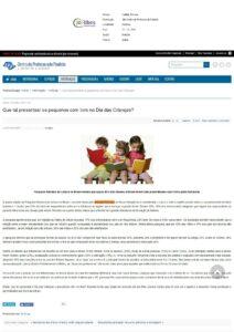 Site Centro do Professorado Paulista 11 - 10 - 2017