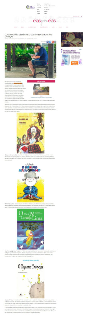 Site Elas por Elas - Portal GAz 14 - 10 - 2017
