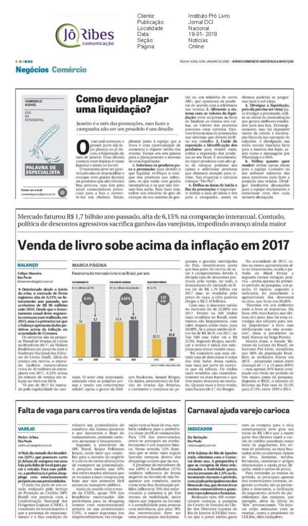 Jornal DCI - 19-01-2018