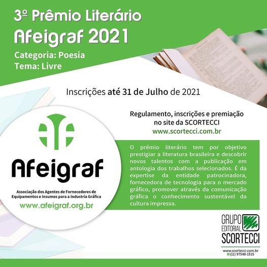 3º Prêmio Literário AFEIGRAF 2021